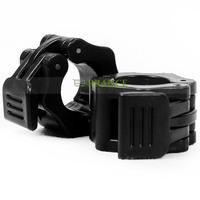 2 Pcs/Pair High Quality ABS Barbell Lock Jaw Collar Dumbbell Hook Grip+Inner Diameter 2.6cm for 26mm-28mm Barbell OT25