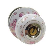 Ceramic lock the door when indoor European ball lock hold hand lock copper core  S-016