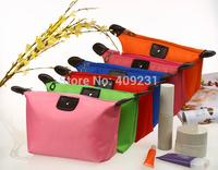 shine candy color fashion cosmetics storage bag women waterproof make up case lady water resistant handbag
