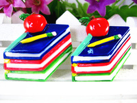 New arrival flatback resin school items for kids phone home decoration 20pcs/lot