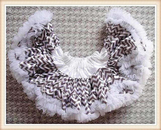 New girls pettiskirts 2014 summer fashion white wave stripe bowknot tutu skirts princess skirts dancewear children clothing 2-8Y(China (Mainland))
