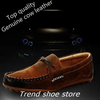 2014 New Arrival Men's Casual Shoes Genuine Leather Business Dress Moccasins Slip On Man footwear casual shoe,free shipping!