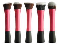 5 Pcs Concealer Brushes Dense Powder Blush Rosy Brush Cosmetic Makeup Tool Soft Fiber Brush ZH115R Bshow