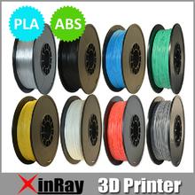 15 Colors ABS PLA 3.0/1.75mm Filaments 1kg/2.2lb 3D Printers plastic Rubber Consumables Material MakerBot/RepRap/UP/Mendel 3DPAP