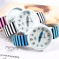Free shipping womage women's dress watch zebra jelly color men sports watches quartz watch cheap wristwatches watch #L05460