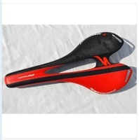 Brand New Cycling Road Bike MTB Bicycle Full Carbon Seat Saddle FREE SHIPPING( Black Red)