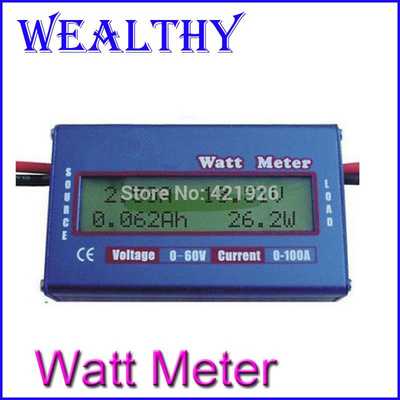 Ваттметр Oem RC LCD 60V/100 DC 10Pcs/Lot voltage Meter вольтметр oem lcd