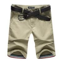 Free Shipping summer men's fifth shorts pants men leisure pure color joker city boy shorts