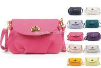 HOT New Fashion Women PU Leather Mini Messenger Bag Satchel Shoulder Handbag