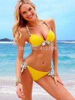2014 swimwear sexy bathing suit swim wear beach bikini swimsuit push up swimming suit for women