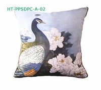 Free shipping  Art  Picture artificial oil painting Digital Print Cushion Cover Pillow Case  HT-PPSDPC-A-02 For Wholesale Retail