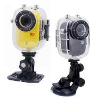 Full HD Waterproof Camera 1080P Sports Helmet Action Mini Video Camera F10 Car DVR /Bike/Surfing/Outdoor Sport Free shipping
