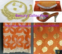 Lace fabric,shoes and bags,jewelry sets,perfect matchings with free shhipping--LSJ275
