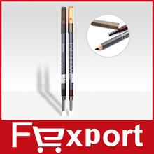 New 2014 Black and Brown 2 Colors Brand M.n Makeup Eyebrown Pencil Eyeliner Pencil 1412