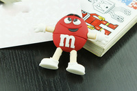 Cartoon characters model m&m's Memory  USB Flash Memory Pen Drive Stick, free shipping 2GB 4GB 8GB 16GB 32GB