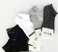 Free Shipping 10Pairs=20pcs/lot Bamboo Fiber Socks Men's Basketball socks Shallow mouth Male sock, Invisible socks