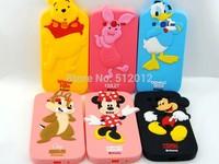 Cute Cartoon Animal Minnie Bear Duck Mickey Chip Pig Soft Silicone Cover Case For Samsung Galaxy Grand Duos i9082