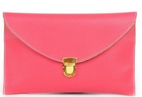2014 Summer Candy Multicolor Handbag Retro Hand Chain Envelope Bag Oblique Cross Small Shoulder Bag