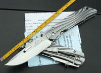 On Sales,High Quality 5Cr13Mov Blade Rockstead Folding Knife,Full Steel Handle Hunting Knife,Mirror polish Multi Tools,New