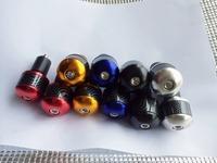 Free shipping one Pair  YZF R1 R6 GSXR600 ZX 6R 10R Handlebar Plug for inner diameter 22mm handle#5014