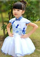 Girl Dress New Sweet Princess Lace Dress  Children's Clothing Free Shipping