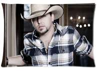 Aldean Custom 20x30 Cotton Pillow Case (One Sides) free shipping