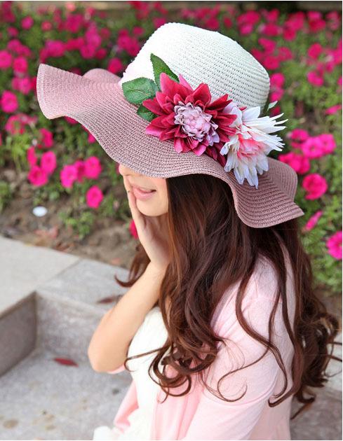 Livraison gratuite 2014 nouvelle mode femmes dim chapeau chapeau d