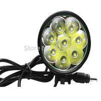 8xCREE XML T6 7500lm 5-Mode LED Bicycle Light