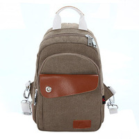 New arrive  Fall New fashion  casual / travel multifunction backpack Korean lover's bags chest /shoulder bag  #G182