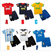Free shipping children suits clothes children garments children outfits t-shirt  stripes boys suits TT047