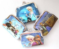 new 12 pcs gift  Girls' Metal buttons Coin Purse Wallet Free shipping