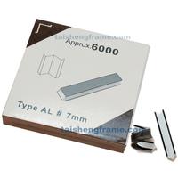 """12MMU 12mm Alfamacchine Hardwood Wedges / Vnails, Pack of 5700 , Underpinner V-Nails  AL 12mm  #1-2"""" XIONGYE Wedges V-nails"""
