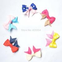 New style Ribbon Bow Hairpins Girl Headwear Baby Hair clips Princess Barrette Children Hair accessories 30 pcs/lot