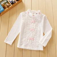 Spring 2014 Long Sleeve Wholesale Lace Shirt Bottoming