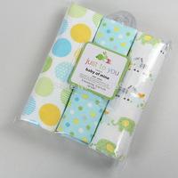 1set=3pcs newborn 100%cotton original carters receiving blankets, printed sheets, unisex baby wrap travel blankets
