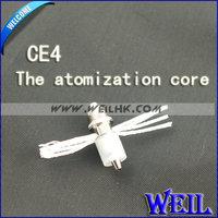 20pc/lot Electronic Cigarettes Atomization Core For CE4+ ego E cigarette Rechange coil Head Core FS004