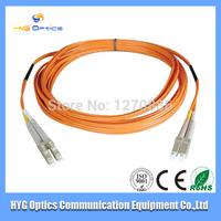 LC multimode fiber optic patch cord