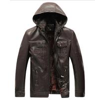 free shipping men's leather jacket , men's fashion coat , leather jacket men 95