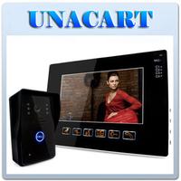 """9"""" LCD Touch Key Video Door Phone DoorBell Intercom System IR CCTV Video Camera"""