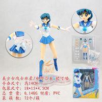 Sailor Mercury S.H. Figuarts Action Figure Sailor Moon Tamashi Nations With Box