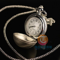 Free shipping Women dress watches spherical Necklace Watch electronic pocket watch and popular flip sweater chain small watch