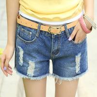 #1928 New 2014 fashion high quality women lady girls denim jeans Korean summer vintage shorts