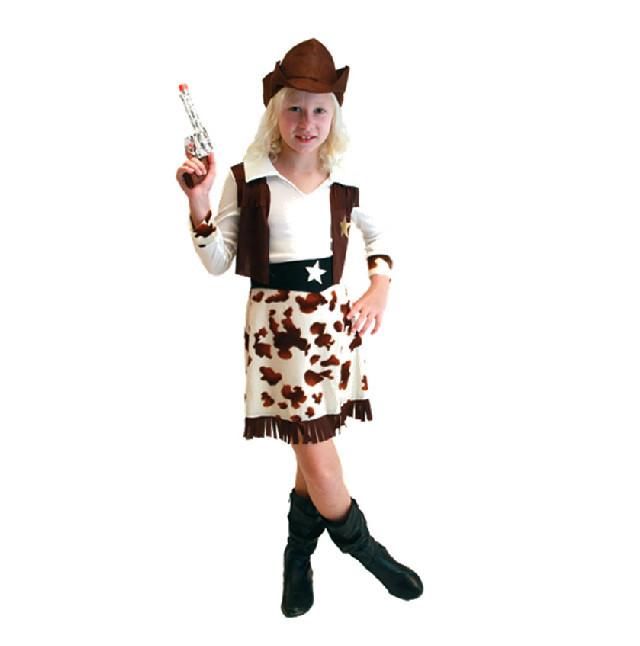 Girl Cowboy Costume Costumes Girls Cowboy