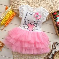 Free shipping 2014 summer new Korean baby girls princess dress girl's fashion dress A304