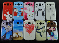 New Cute butterfly Girl Love Plastic Painting Hard Skin Cover Case for Samsung Galaxy core i8260 i8262