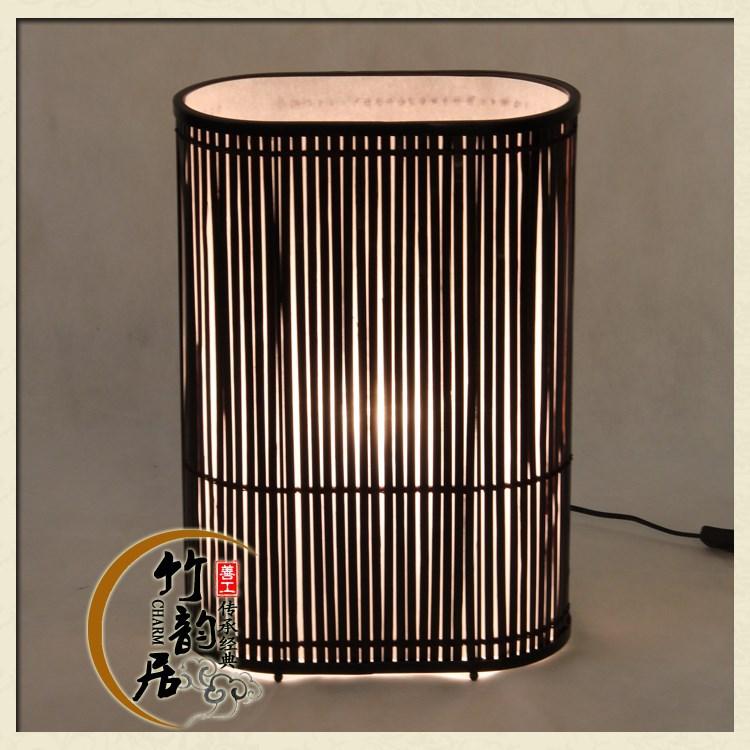 [ Streamer ] creative bamboo lamp bedroom bedside lamp hotels teahouse restaurant KTV, bamboo lamp(China (Mainland))
