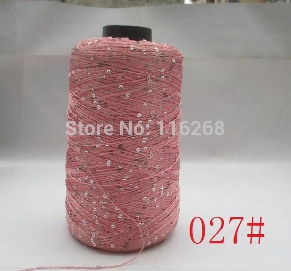 Lantejoulas fio linha pena agulha Natural macio rendas fio de mão tricô fio chapéu cachecol camisola linha de crochê 40(China (Mainland))