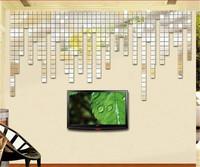 100 pcs/lot 2 x 2cm Acrylic Mosaic 3D Mirror wall stickers DIY sofa living room Decoration modern style best gift FreeShipping