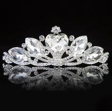2014 The new high-grade crystal tiara wedding bridal accessories  B16