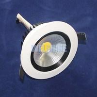 20x High Brightness dimmable 15W LED cob downlight Aluminum white shell AC110/ 220V led spot light Warm / Cool White